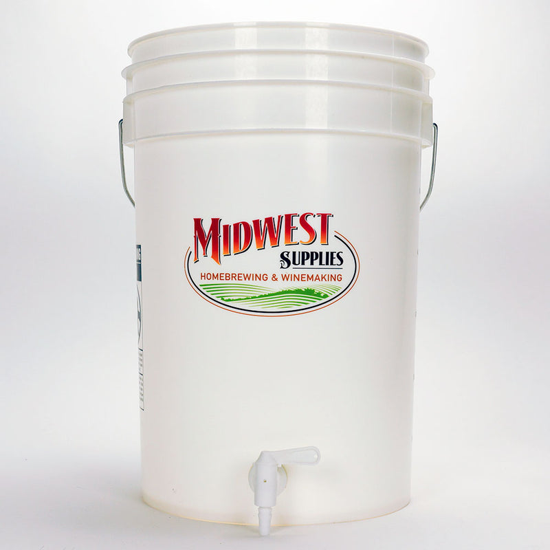 Midwest Supplies bottling bucket with a spigot
