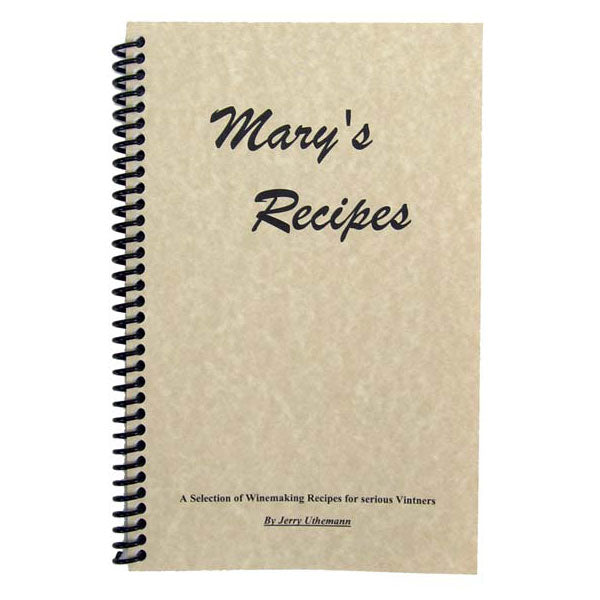 Mary's Recipes by Jerry Uthemann
