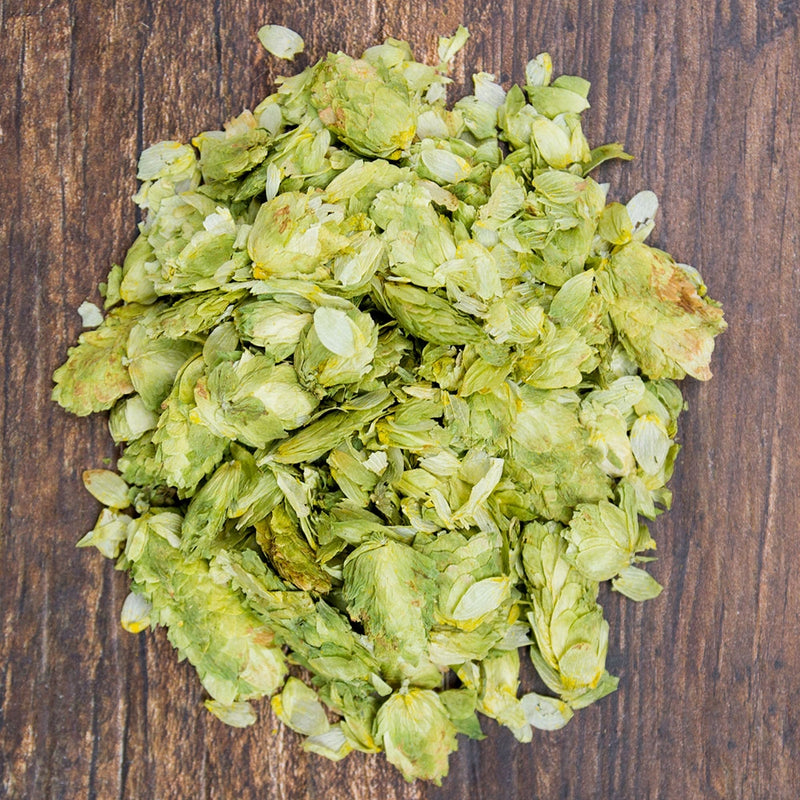 Mosaic Leaf Hops in a pile