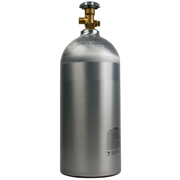 New 10-pound CO2 tank