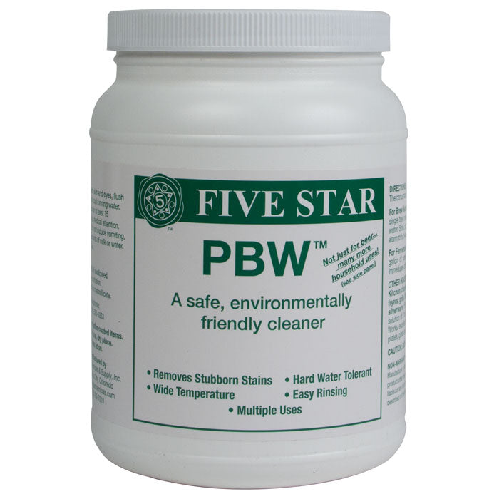 Five star PBW in its container