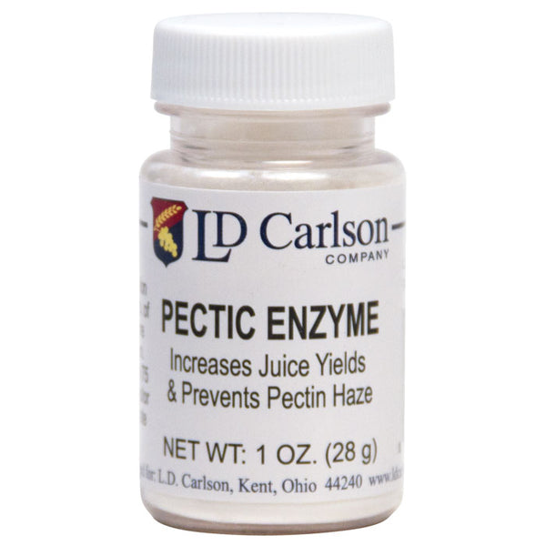 1-ounce jar of pectic enyme