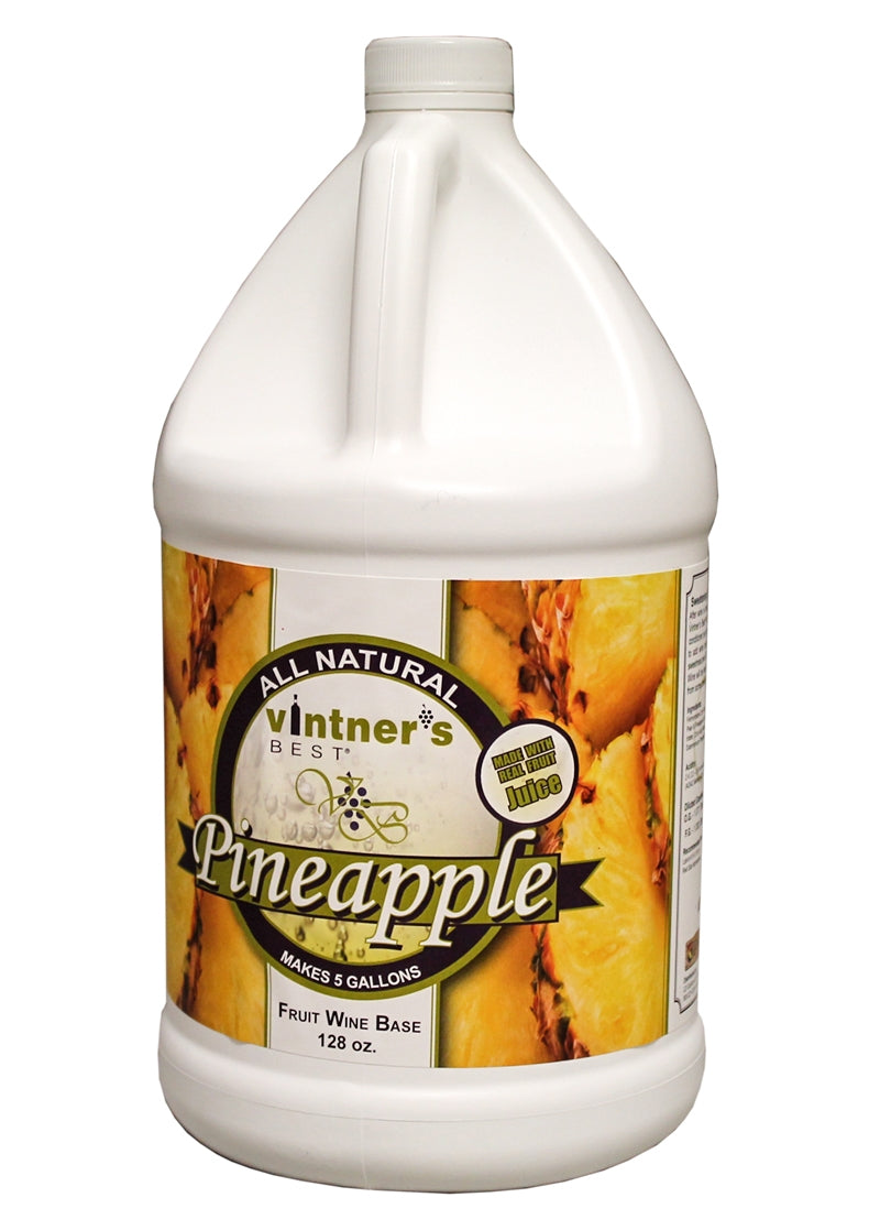 Vintner's Best® Pineapple Fruit Wine Base 128 oz.