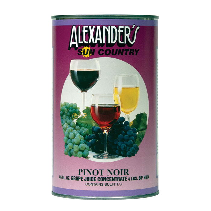 Pinot Noir Alexander's Sun Country Concentrates