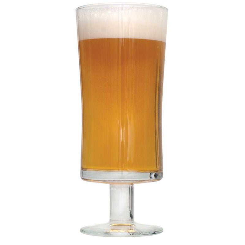 The Plinian Legacy Double IPA in a drinking glass