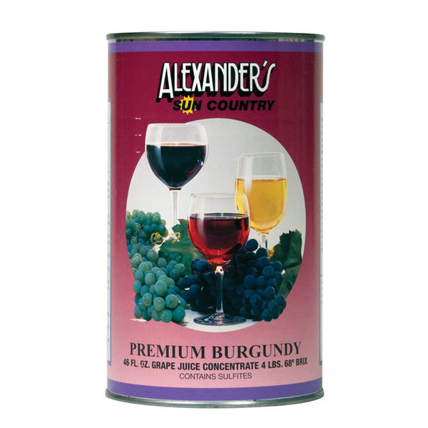 Premium Burgundy Wine Concentrate (Alexander's)