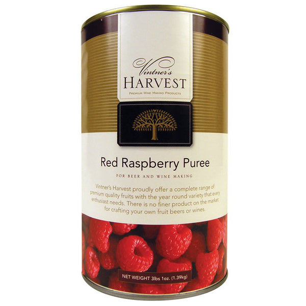 Raspberry Puree can from Vintner's Harvest
