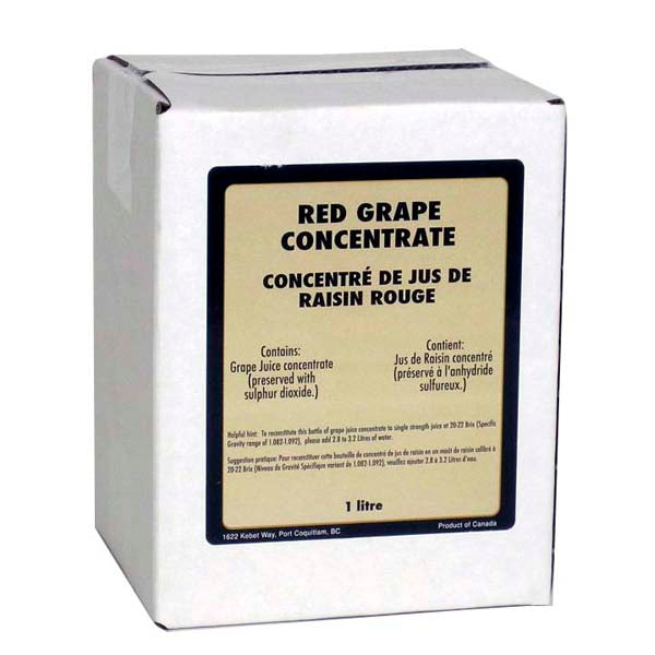 1-liter box of Winexpert™ Red Grape Concentrate
