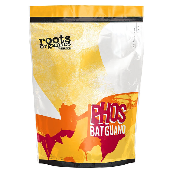 9-pound bag of Roots Organics Phos Bat Guano