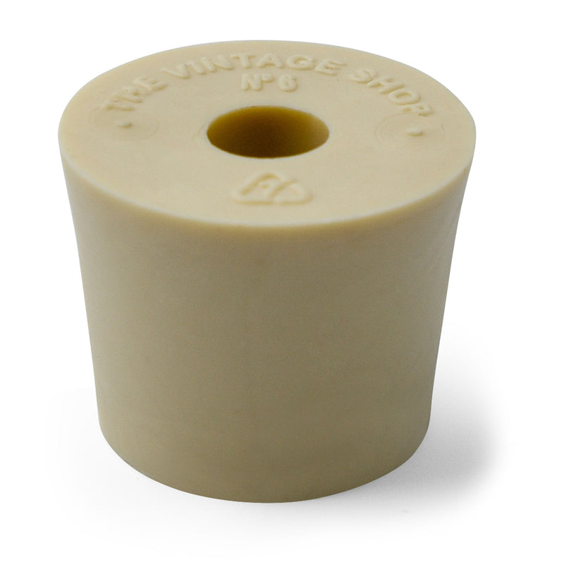 Number 6 drilled Stopper