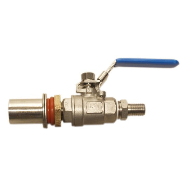 Stainless Steel Cooler Valve with Barb