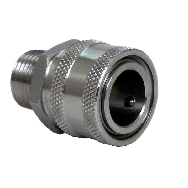Stainless Steel Female Quick Disconnect Male NPT - 1/2""