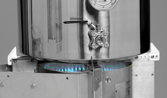 The ignited helfire stand mounted burner