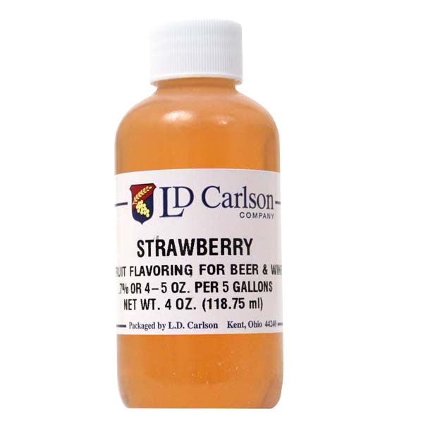Strawberry Extract- 4 oz.