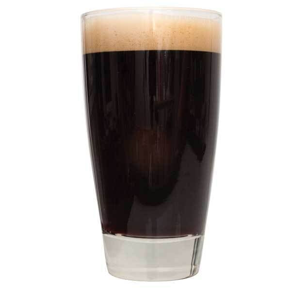 Sweet Stout in a drinking glass
