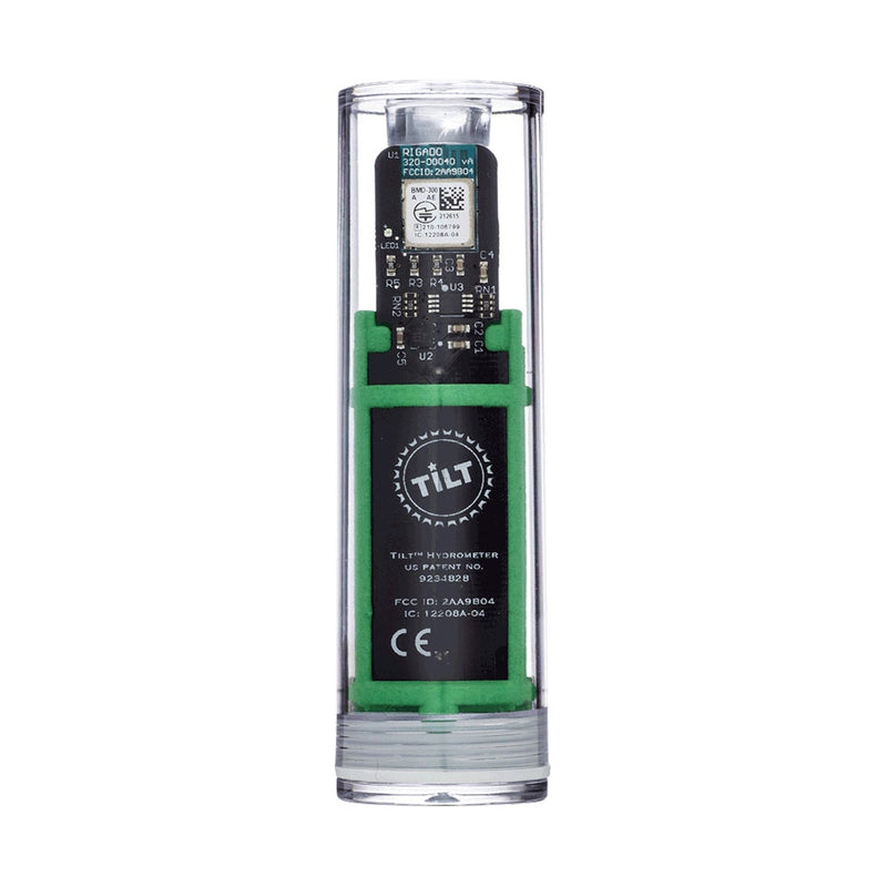 Green Tilt Digital Hydrometer and Thermometer