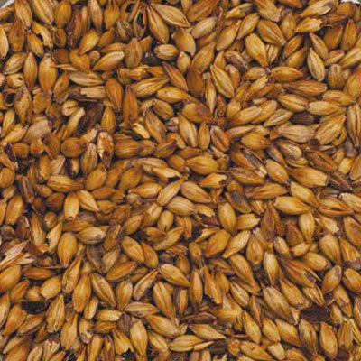 Detail view of Bairds Carastan Malt