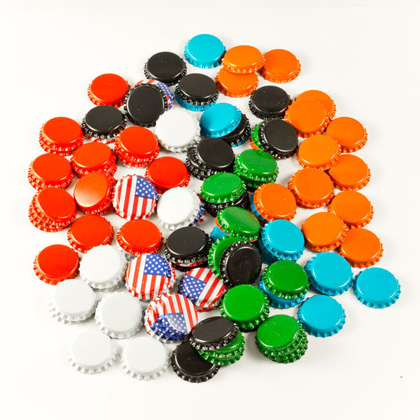 120 Crown Beer Bottle Caps: