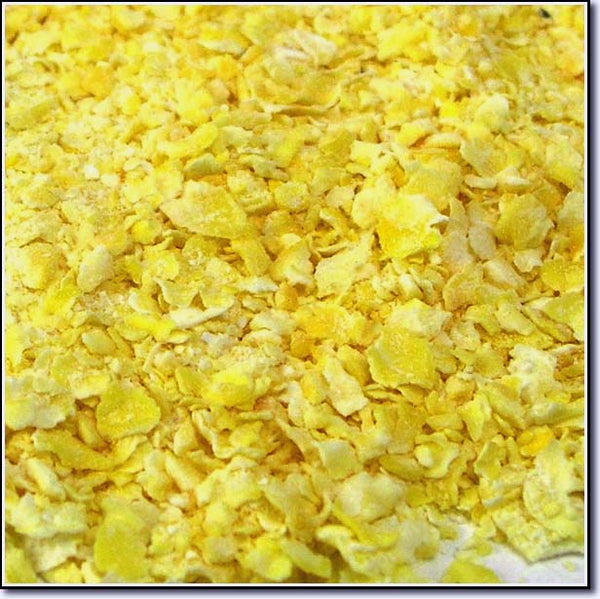 Close-up of Flaked Corn
