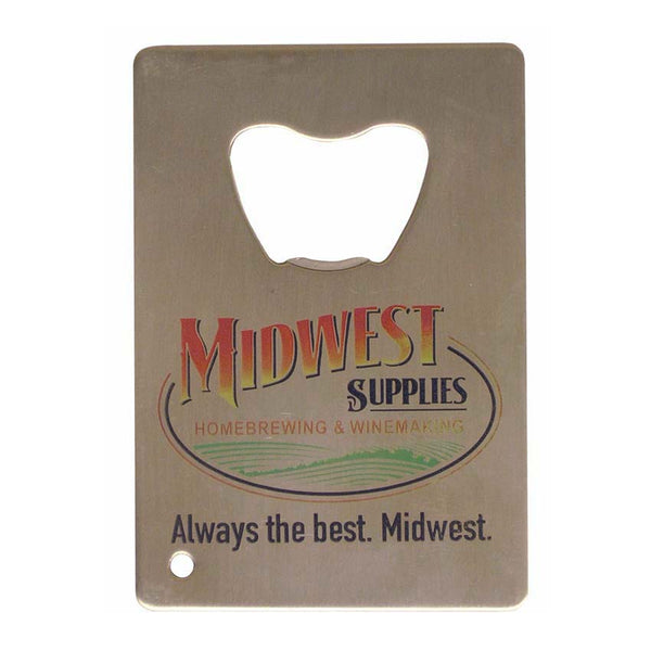 Midwest Supplies Wallet Bottle Opener