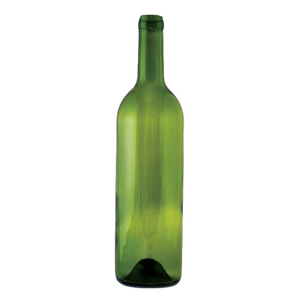 750 ml Green Punted Bordeaux Bottles