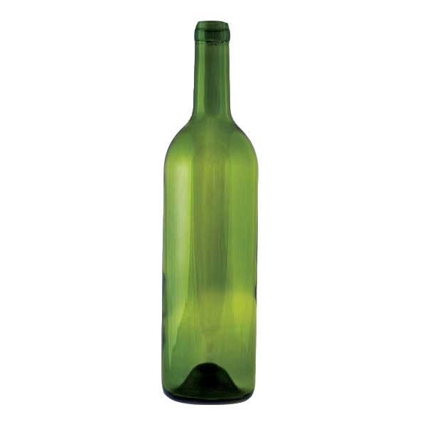 750 ml Green Punted Bordeaux Bottle