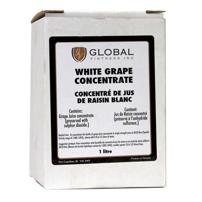 1-liter box of Winexpert™ White Grape Concentrate