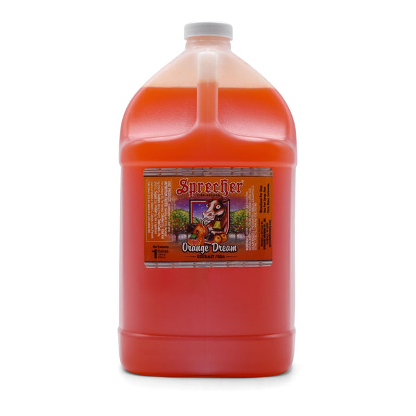 Sprecher Orange Dream Soda Extract 1 gallon