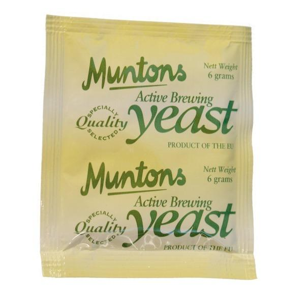 Muntons Ale Dry Yeast in a sachet