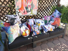 Load image into Gallery viewer, Artful pillow collection