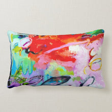 "Load image into Gallery viewer, Artful Pillow, home accent, 16"" x 16"", ""Wild Fury"""