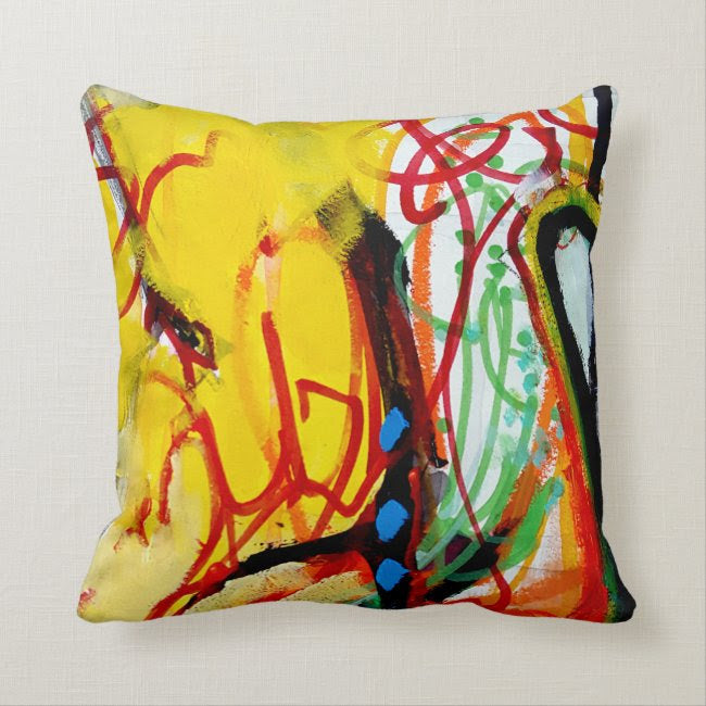 Artful Pillow, home accent, 16