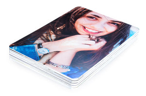 "Printed Art Card, ""A Girl Like You"", 4""x 6"" x 1.0 mm thick substrate paper, Collectible, Frameable"