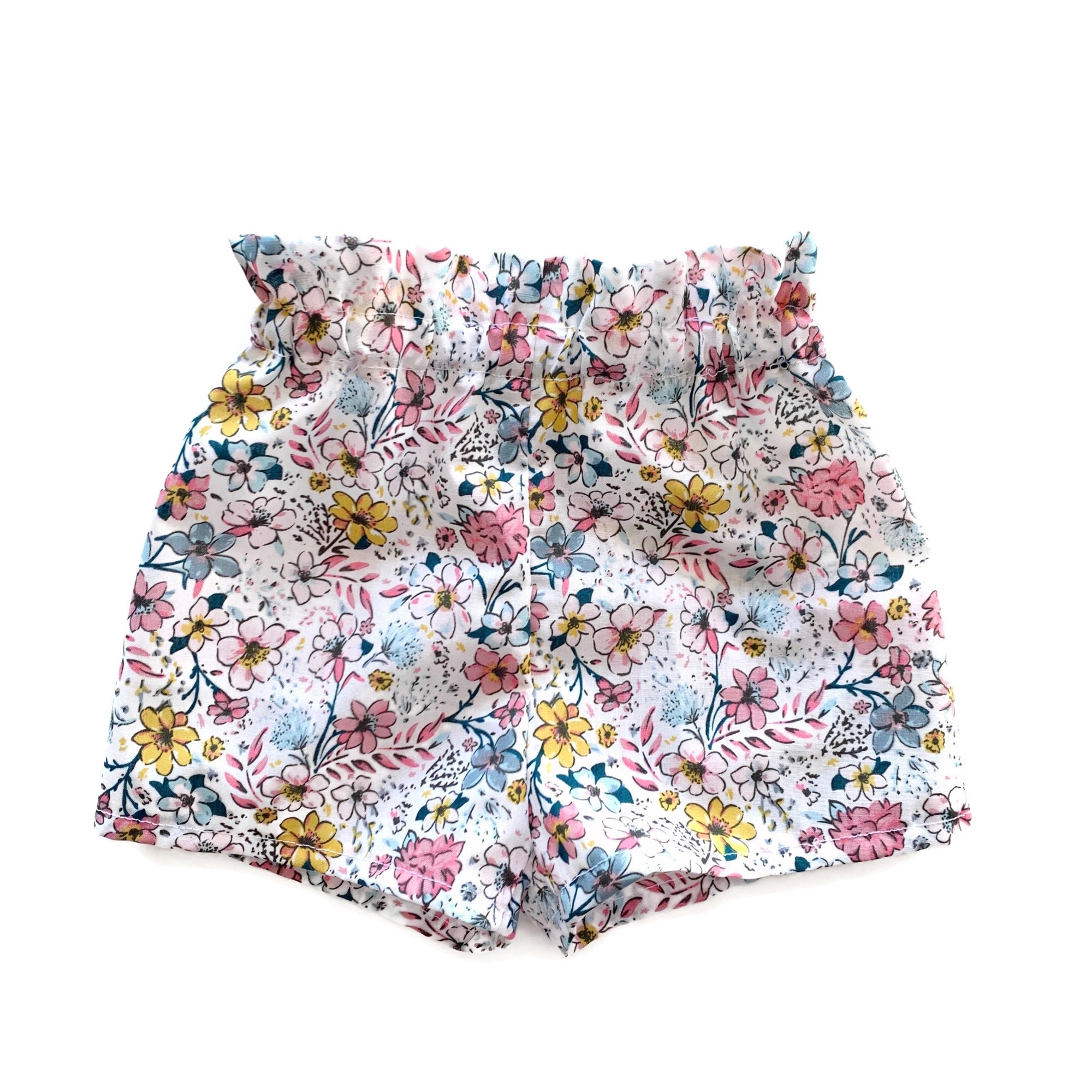Pink Country Garden | Flutter Shorts