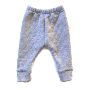 Grey Fleece | Cuffed Pants