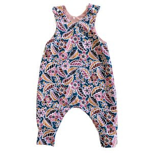 Multi-Coloured Floral | Reversible Jumpy Romper