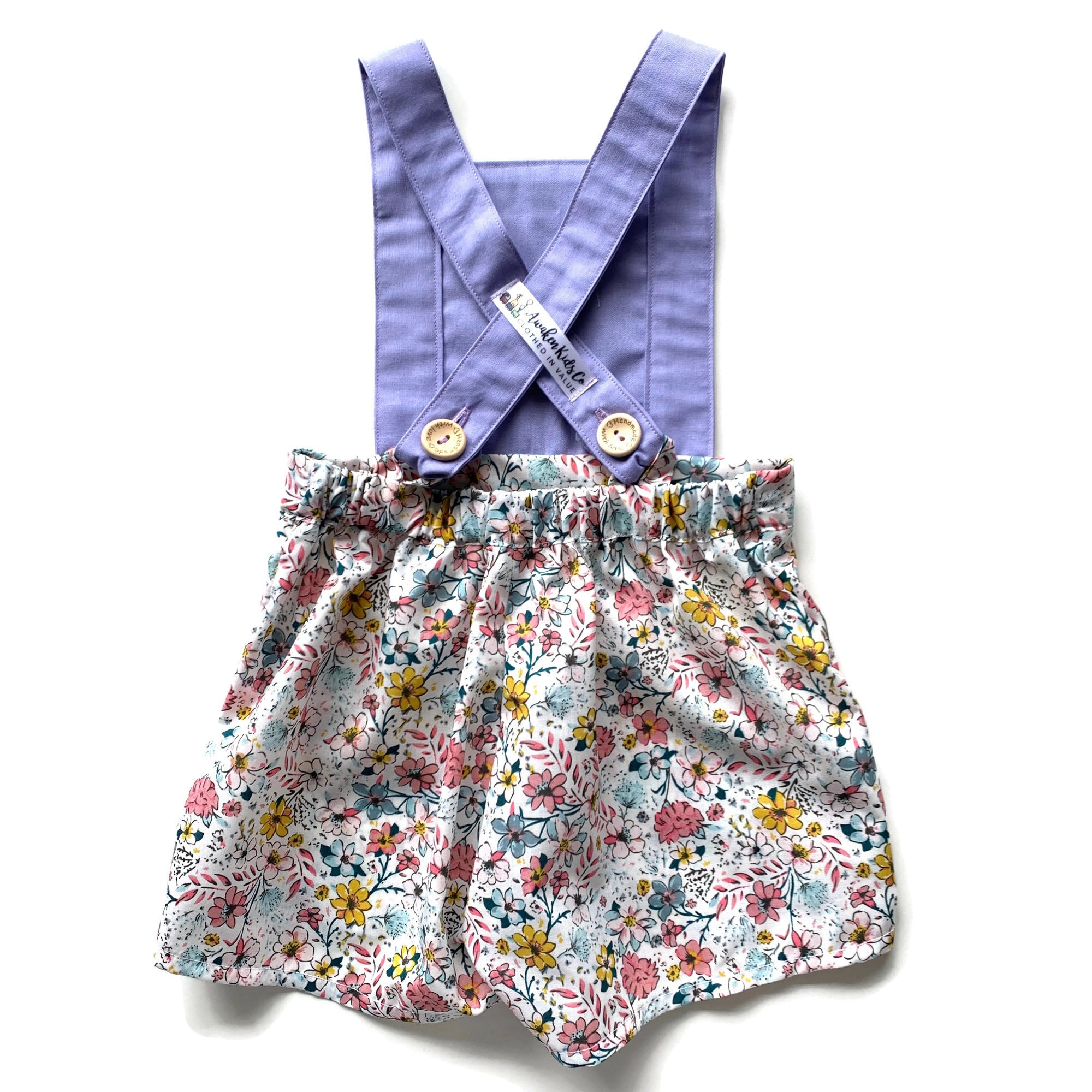 Purple & Country Garden Floral | Shorts