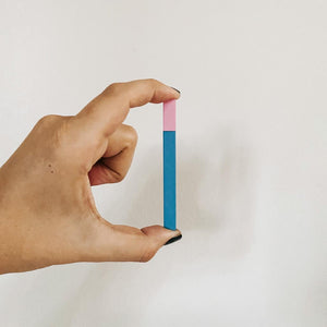 Cotton Candy Slim Stick Square Lighter