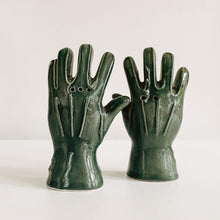 Load image into Gallery viewer, Glove Ceramic Salt and Pepper Shakers