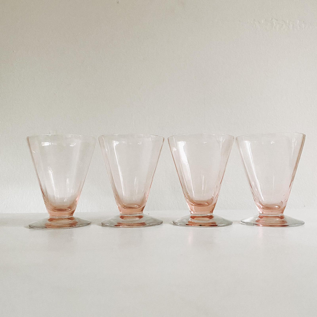 Set of 4 Pink Apéritif