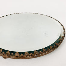 Load image into Gallery viewer, Victorian Brass Mirror Tray