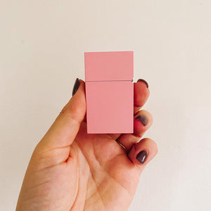 Baby Pink Powder Coated Lighter