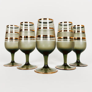 Set of 5 Vintage Cordials