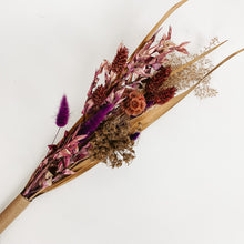 Load image into Gallery viewer, Small Dried Flower Bouquet - Boysenberry