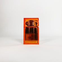 Load image into Gallery viewer, Orange Hard Edge Refillable Lighter