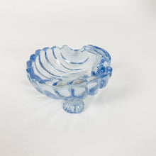Load image into Gallery viewer, Cambridge Blue Glass Shell Ring Drop