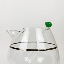 Load image into Gallery viewer, Mid Century Pedestal Cocktail Pitcher