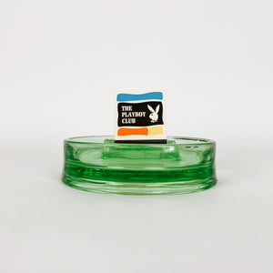 Lime Green Matchbook Ashtray