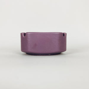 Mod Purple Ceramic Ashtray