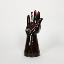 Load image into Gallery viewer, Red Glass Hand